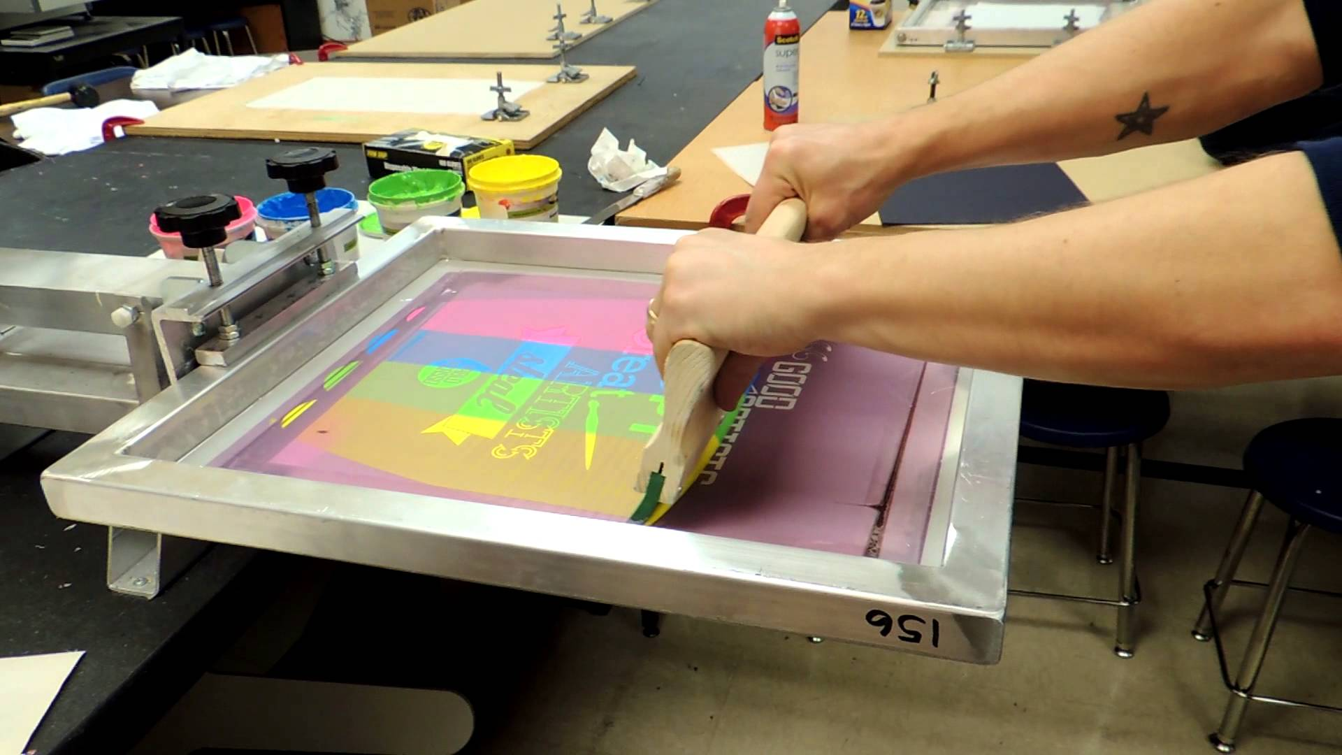 Silk Screen Printing
