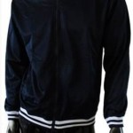 Navy Blue Mid Gloss Jacket