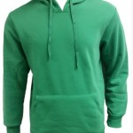 green hoodies