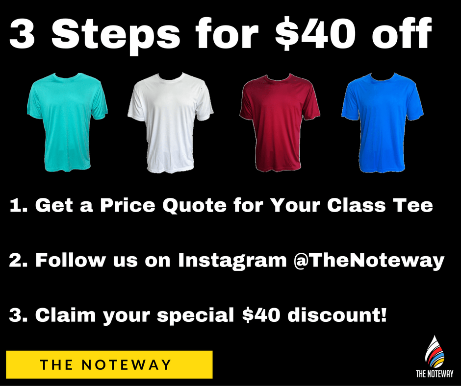 Class Tee Printing Discount