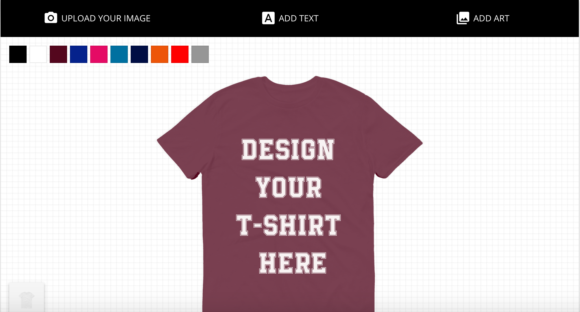 Class tee printing free t shirt design lab instant for How to make t shirt printing