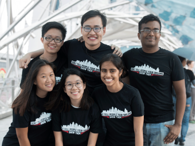 Customised T-Shirts Sold at NTU in 2016