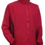 Maroon Black Dual-Coloured Windbreaker