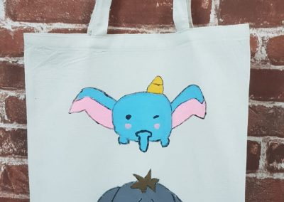 Art Jamming on Tote Bag - Cute