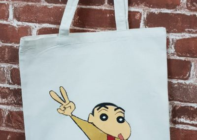 Art Jamming on Tote Bag - Shin Chan