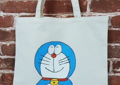 Art Jamming on Tote Bag - Doraemon