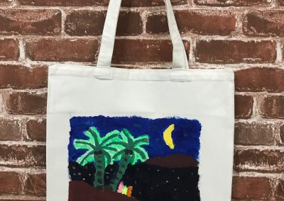 Art Jamming on Tote Bag - Scenery