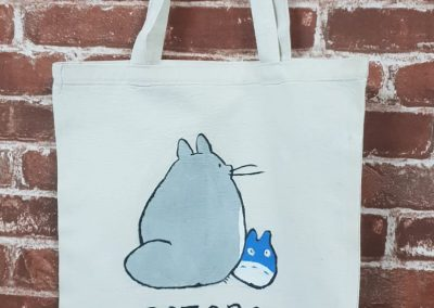 Art Jamming on Tote Bag - Totoro