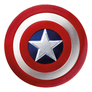 Captain America shield illustration