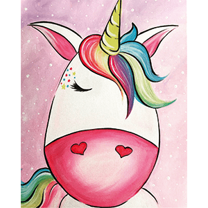 Cute Baby unicorn drawing