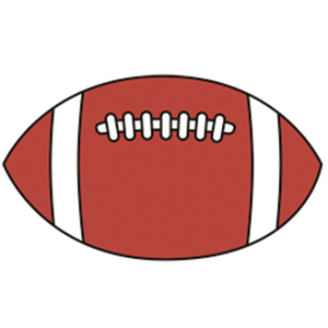 American Football Rugby Ball Art