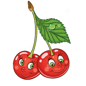 Happy Cherries illustration