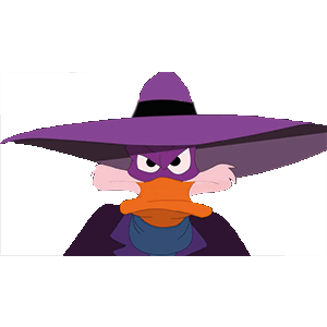 Darkwing duck illustration