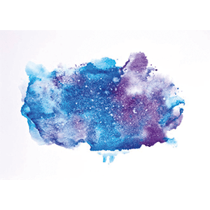 cool nebula painting art