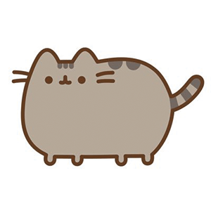Cute Pusheen cat drawing