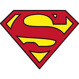 Superman Logo art